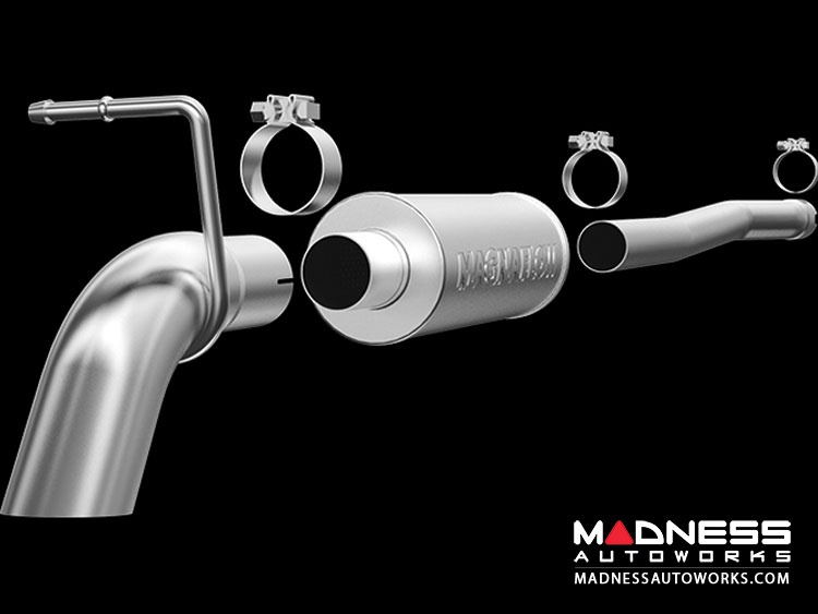 Jeep Wrangler 3.6 Performance Exhaust by Magnaflow - Cat Back Exhaust System