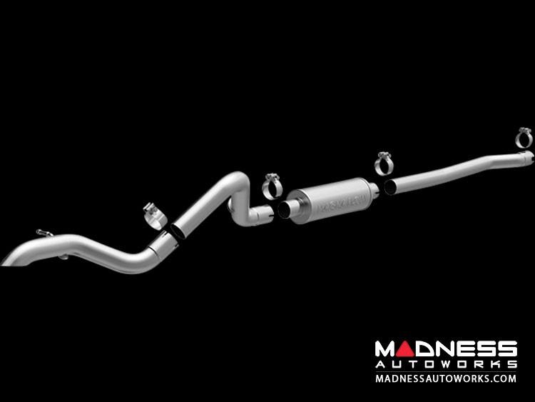 """Jeep Wrangler 3.6 Performance Exhaust by Magnaflow - 4 Door Performance """"Rockcrawler"""" Exhaust"""