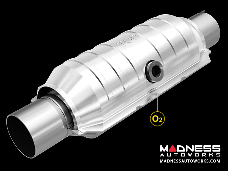 "Universal Performance Catalytic Converter by MagnaFlow - 15"" Overall"