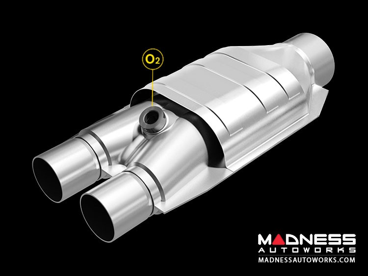 """Universal Performance Catalytic Converter by MagnaFlow - 16"""" Overall"""