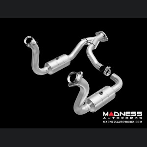 """Ford F 250/ 350 6.8L V10 Performance Exhaust by Magnaflow - 3"""" Catalytic Converter"""