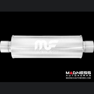 "Universal Performance Resonator (Glasspack) by MagnaFlow - 30"" Overall"