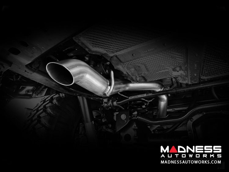 Jeep Wrangler JL 3.6 Performance Exhaust by Magnaflow - Driver Side Rear Exit - No Tip - Cat-Back