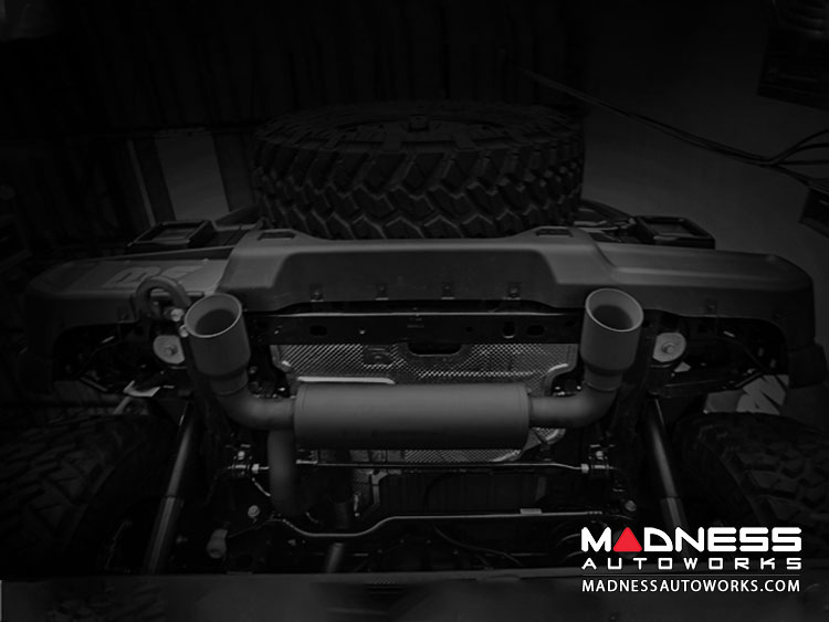 Jeep Wrangler JL 3.6 Performance Exhaust by Magnaflow - Dual Exit - Black
