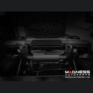 Jeep Wrangler JL 3.6 Performance Exhaust by Magnaflow - Dual Exit - Black