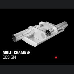 "Universal Performance Resonator (Multi Chamber) by MagnaFlow - 14"" Body - XL"