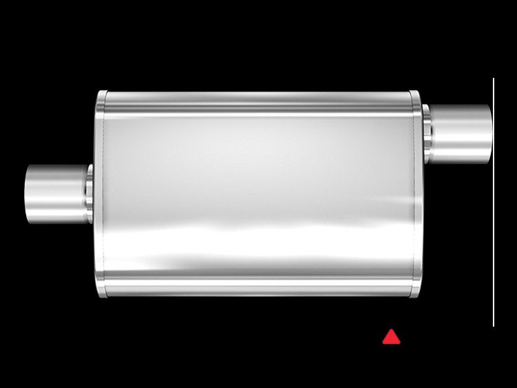 "Universal Performance Resonator (Glasspack) by MagnaFlow - 28"" Body"