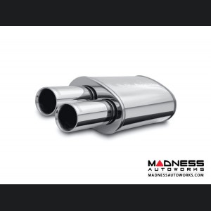 "Universal Performance Muffler by MagnaFlow - 2.25"" Inlet"