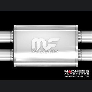 Universal Performance Resonator (Glasspack) by MagnaFlow - X-Muffler
