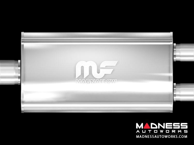 Universal Performance Resonator (Glasspack) by MagnaFlow - Y-Muffler