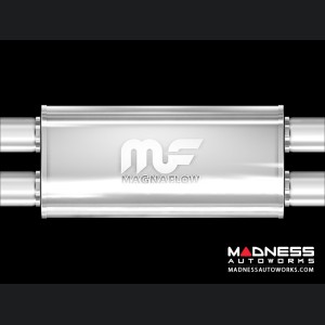 Universal Performance Resonator (Glasspack) by MagnaFlow - Center Y-Muffler