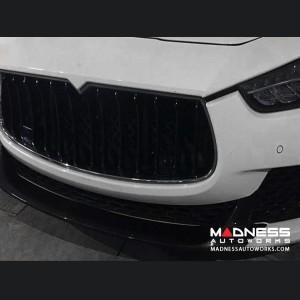 Maserati Ghibli S Q4 Front Spoiler - Carbon Fiber