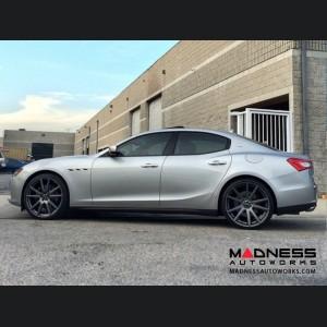 Maserati Ghibli Custom Wheels by Fondmetal - Matte Titanium