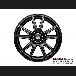 Maserati Ghibli Custom Wheels by Fondmetal - Black Milled