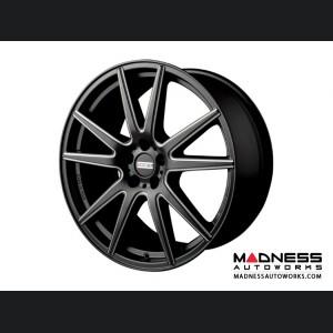 Maserati Ghibli Custom Wheels by Fondmetal - Black Milled