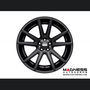 Maserati Ghibli Custom Wheels by Fondmetal - Matte Black