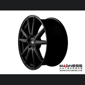 Maserati GranTurismo Custom Wheels by Fondmetal - Matte Black