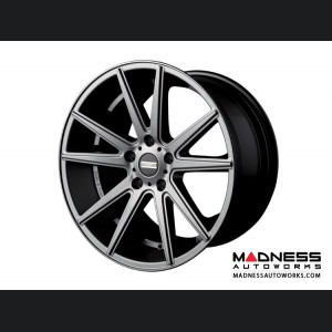 Maserati GranTurismo Custom Wheels by Fondmetal - Matte Titanium