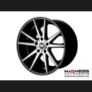 Maserati GranTurismo Custom Wheels by Fondmetal - Matte Black Machined