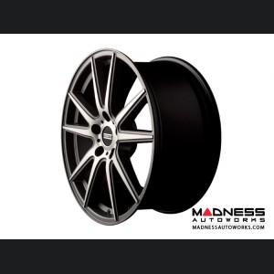 Maserati Ghibli Custom Wheels by Fondmetal - Matte Titanium Machined
