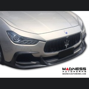 Maserati Ghibli Front Lip - Grand Touring - Carbon Fiber