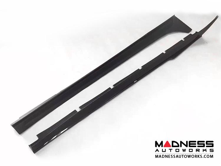 Maserati Ghibli Side Skirts - Carbon Fiber - Grand Touring
