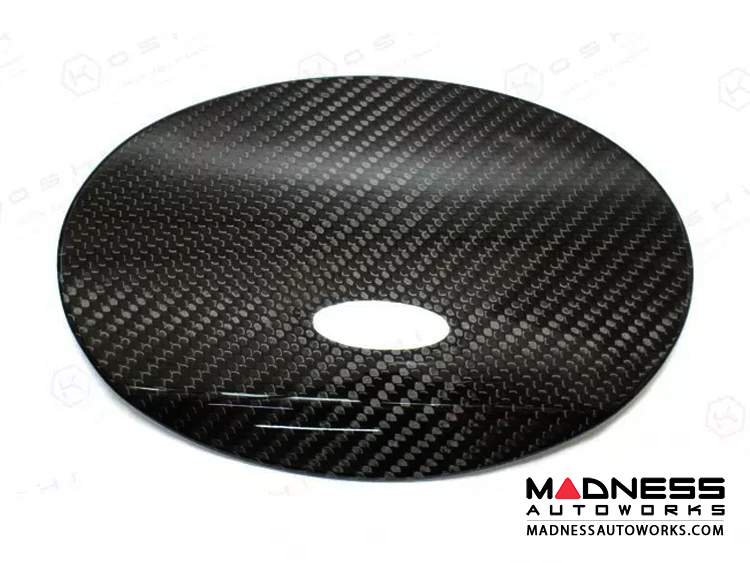 Maserati Ghibli Carbon Fiber Fuel Door Cover