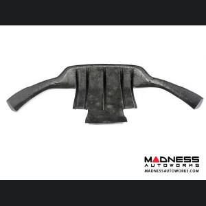 Maserati GranTurismo Convertible Rear Bumper Lip - Carbon Fiber - 2-Door