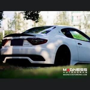 Maserati GranTurismo Coupe Rear Spoiler Lip - Carbon Fiber