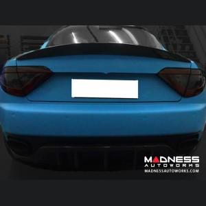 Maserati GranTurismo Coupe Rear Spoiler - Carbon Fiber