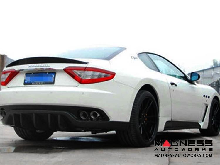 Maserati GranTurismo Coupe Rear Spoiler Wing - Carbon Fiber