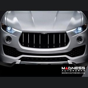 Maserati Levante S Sport Utility Front Car Splitters - Carbon Fiber