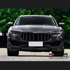 Maserati Levante S Sport Utility Front Center Lip - Carbon Fiber