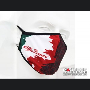 Face Mask - Triple Layer - Alfa Romeo Italy Design