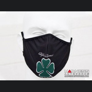 Face Mask - Triple Layer - Alfa Romeo Quadrifoglio Cloverleaf Design
