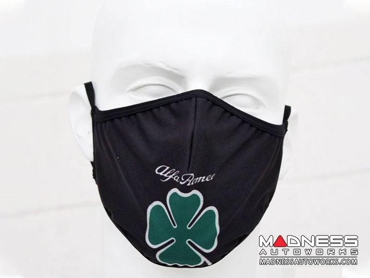Face Mask - Triple Layer - Alfa Romeo Quadrifoglio Cloverleaf Design