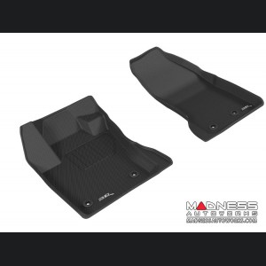 Jeep Renegade Floor Mats - 3D MAXpider - Front - Black (Set of 2)