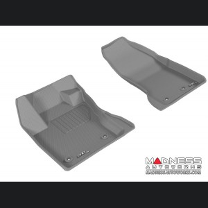 Jeep Renegade Floor Mats - 3D MAXpider - Front - Gray (Set of 2)