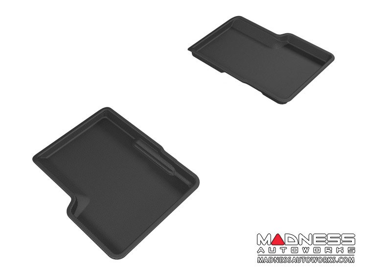 Jeep Renegade Floor Mats - 3D MAXpider - Rear - Black