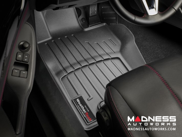 Mazda Miata (2016- on) Floor Liners (Front) by WeatherTech - Black