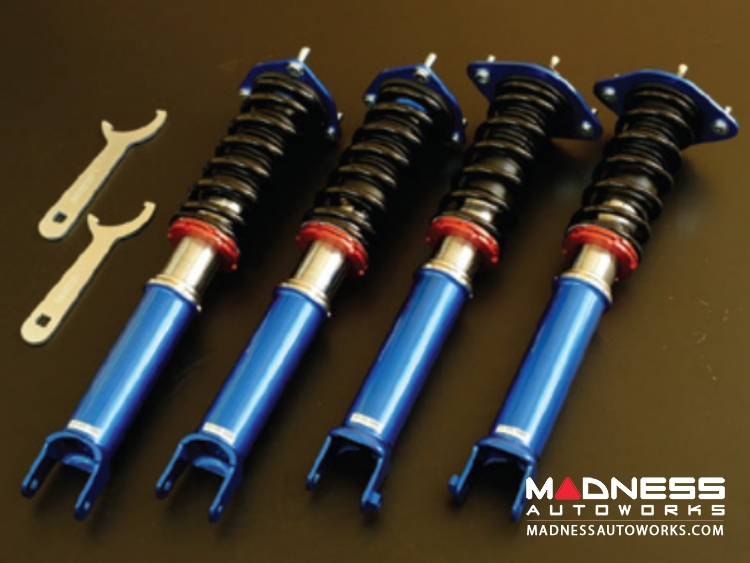 Mazda Miata Coilover Set by Cusco - Street Zero w/ Rubber Top Mounts