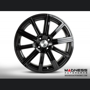 Mazda Miata Custom Wheels - Illusion - Custom Gloss Black Finish - 17""