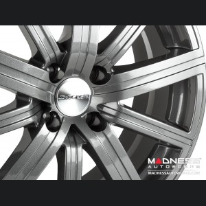 Mazda Miata Custom Wheels - Illusion - Custom Gloss Gunmetal Finish - 17""