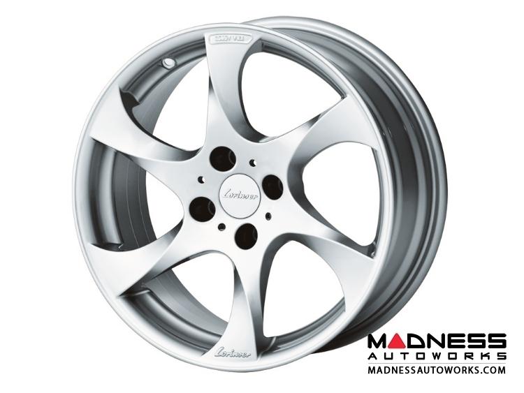 "Mazda Miata Custom Wheels by Lorinser - 7.5x17"" -Silver Finish"