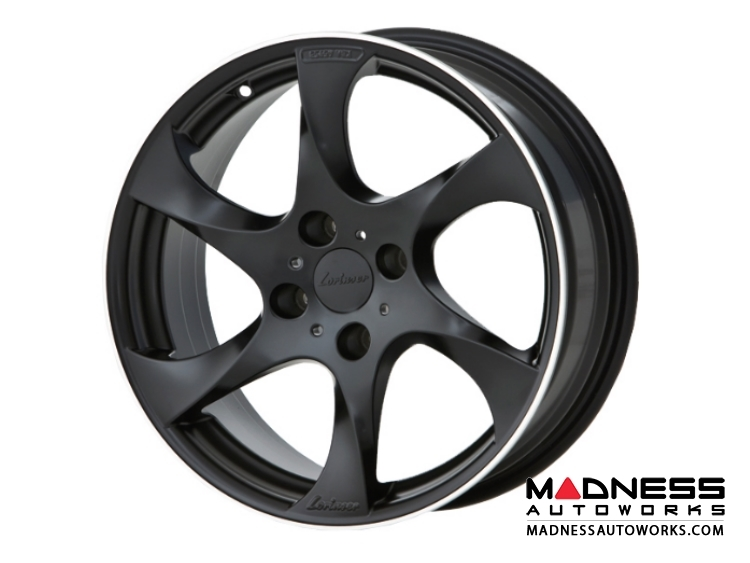 "Mazda Miata Custom Wheels by Lorinser - 7.5x17"" - Black Satin Finish"