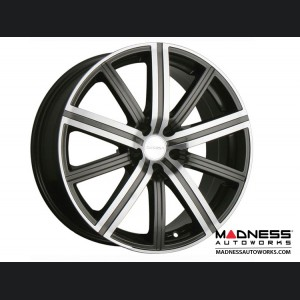 Mazda Miata Custom Wheels - Illusion - Gunmetal w/ Machined Face - 17""