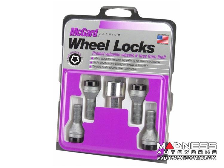 Jeep Renegade Wheel Locks - McGard - Black - Cone Seat