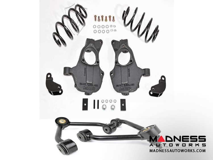 Cadilac Escalade 2/ 3 Deluxe Drop Kit by McGaughys Suspension Parts - 4wd & AWD w/ Magnaride Suspension (2015 - 2017)