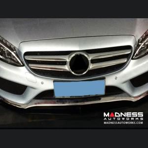 Mercedes-Benz W205 Sport Front Bumper Lip - Carbon Fiber