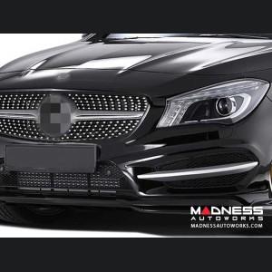 Mercedes-Benz CLA-Class Front Bumper Splitter - Carbon Fiber
